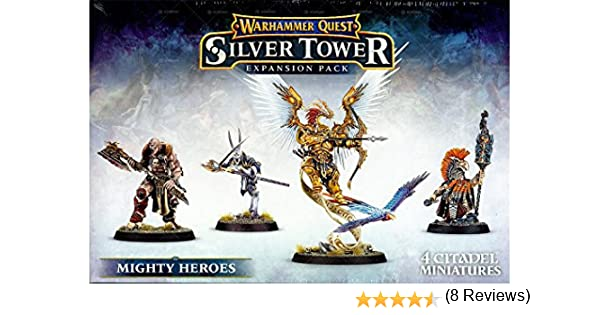 Warhammer Quest Silver Towers Expansion Pack Mighty Heroes by Warhammer Quest: Amazon.es: Juguetes y juegos