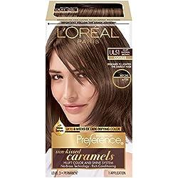 L'Oreal Paris Superior Preference Fade-Defying Color + Shine System, UL51 Hi-Lift Natural Brown(Packaging May Vary)