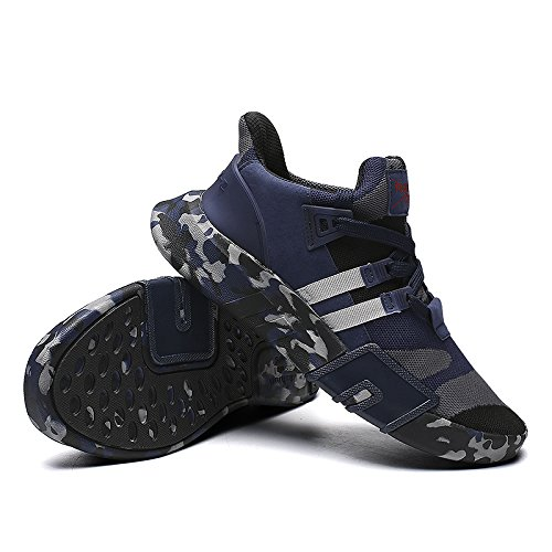 Fushiton Marche Pour Bleu De Course En Lgers Sportifs Dcontracte Gymnase Entraneurs Hommes Remise Forme Femmes Chaussures Hommes Sportswear Baskets wtrHUqzw