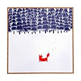 Deny Designs Robert Farkas, Alone In The Forest - Best Reviews Guide