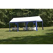 ShelterLogic 25888 Party Tent 10x20-Feet/3x6m, Blue/White