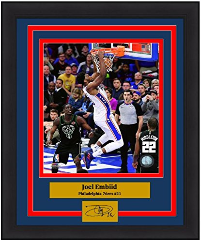 Joel Embiid 76ers Slam Dunk 8