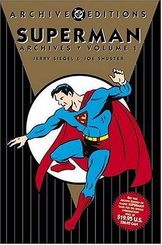 Superman Archives, Vol. 1, Siegel, Jerry