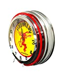 Fireball Whisky Sign - 19 inch neon clock