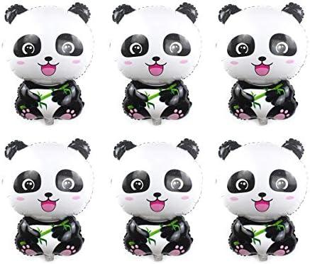 Amazon.com: Halloluck 6 paquetes de globos de panda sellados ...