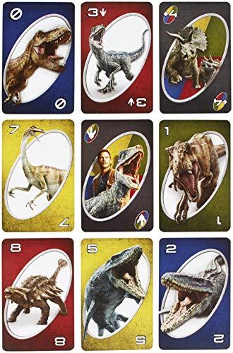 3e0da424554 Mattel Jurassic World Uno Card Game Mattel Jurassic World Uno Card Game ...