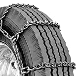 Security Chain Company QGV356 Quik Grip V-Bar CTO Heavy Duty Truck Tire Traction Chain - Set of 2