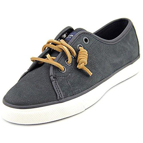 Women's Sperry Black Tan Tan Seacoast Nubuck Shoes 8UdxUHvq