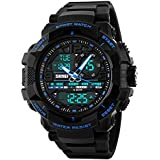 Skmei Analogue-Digital Blue Dial Men's & Boy's Watch - SKM-1164-Blue-01