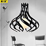 The restaurant is light chandeliers three YPOSION head creative led lamps hanging chandeliers and modern minimalist dining room lighting