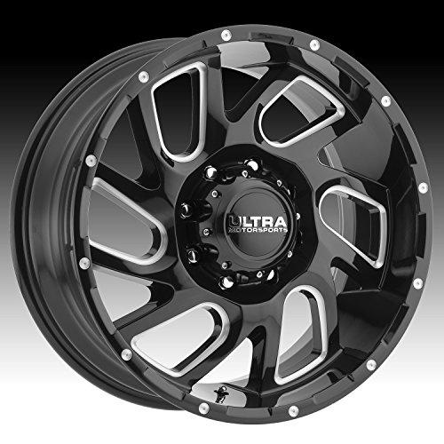 Ultra 221BM Carnage 20x10 6x135 -25mm Black/Milled Wheel -