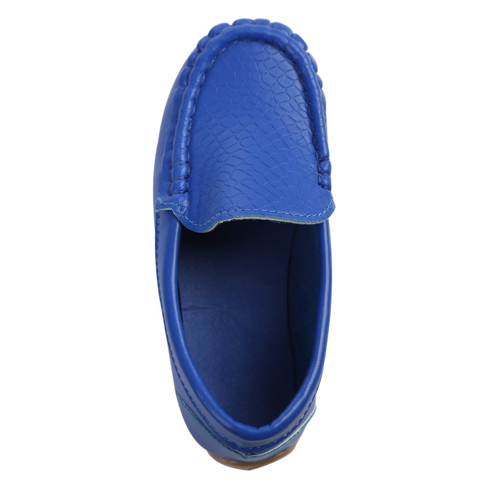 Soft Leather Comfort Loafers Shoes Durable For Toddlers,Pink,Toddler 6 M Little Kids Frosted Leather Sneakers,Slip-on Boat-Dress Baby Shoes