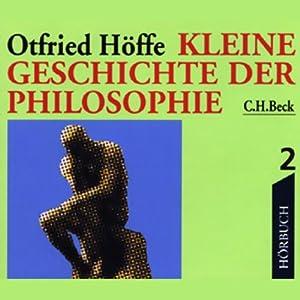 Kleine Geschichte der Philosophie 2 Hörbuch