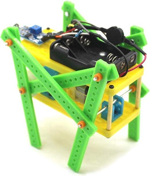 Jadpes Modelo de Robot de Bricolaje, Juguete de Control de Voz ...