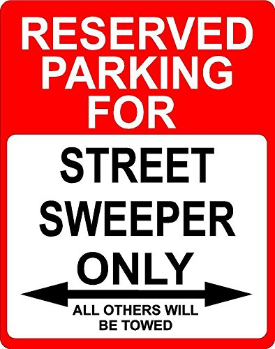 Any and All Graphics Street Sweeper Occupation Reserved Park