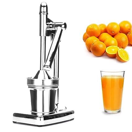 Exprimidor de limón manual/comercial de acero inoxidable metal naranja prensa-Premium Heavy manual