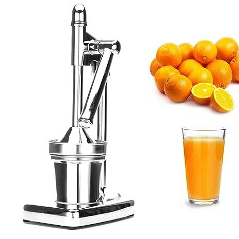 Kimmyer Exprimidor de limón Manual/Comercial de Acero Inoxidable Metal Naranja Prensa-Premium Heavy