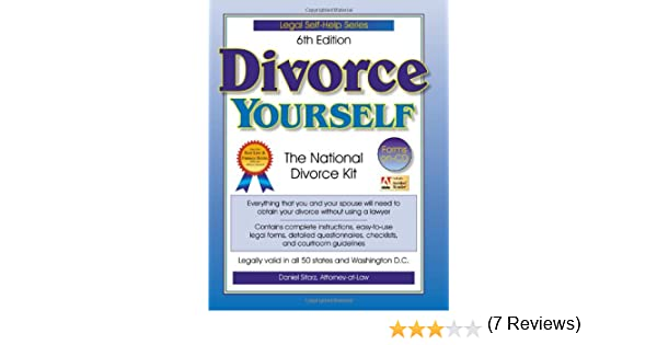 Divorce yourself the national divorce kit divorce yourself wcd divorce yourself the national divorce kit divorce yourself wcd daniel sitarz 9781892949127 amazon books solutioingenieria Image collections
