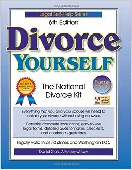Divorce yourself the national divorce kit daniel sitarz divorce yourself the national divorce kit daniel sitarz 9781892949127 books amazon solutioingenieria Gallery