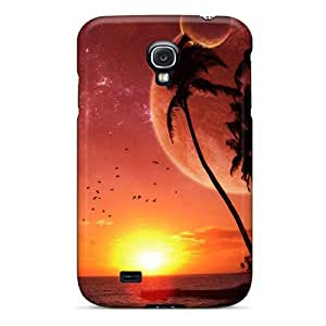 New Arrival Premium S4 Case Cover For Galaxy (sunset Beach)