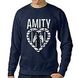 101Dog The Amity Affliction Mens Pullover Sweatshirt Navy