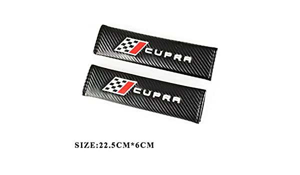 Almohadillas de fibra de carbono para cinturón de seguridad ...