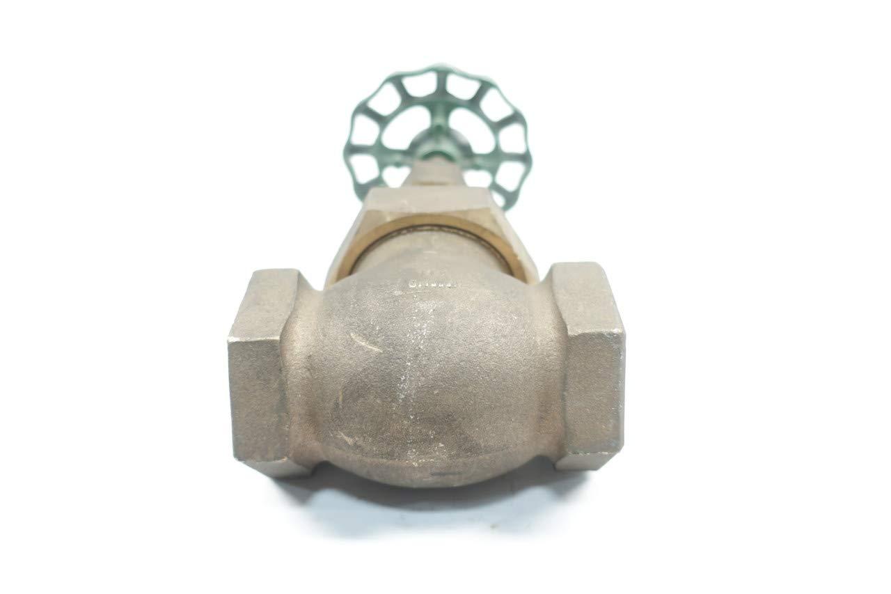 ITT 3240 Bronze 150 1-1//4IN NPT Globe Valve D660182