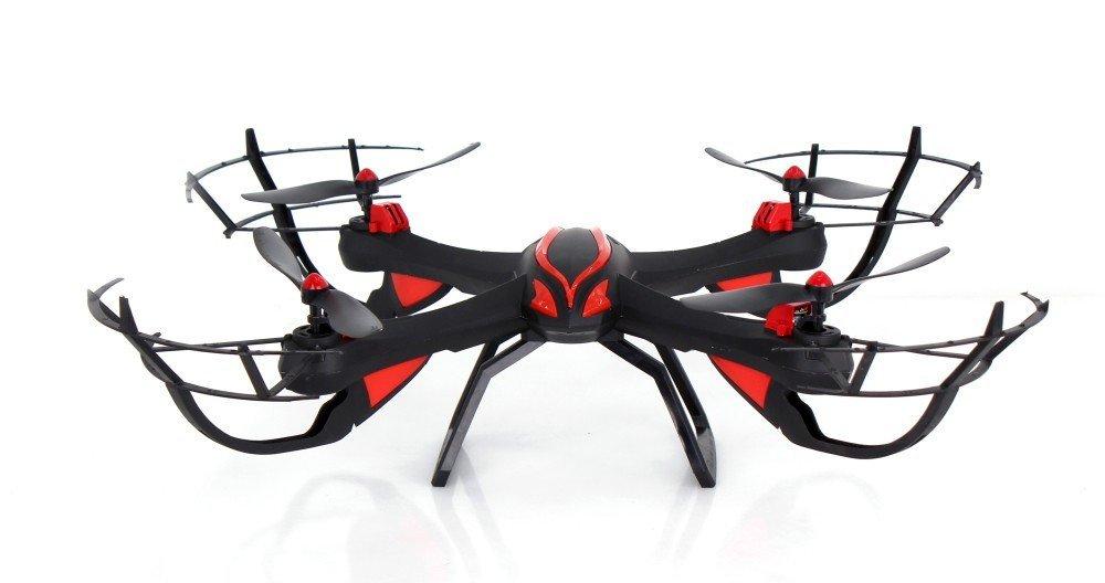 Smartex -Drone Sky Vampire Quadricottero con Supporto Compatibile