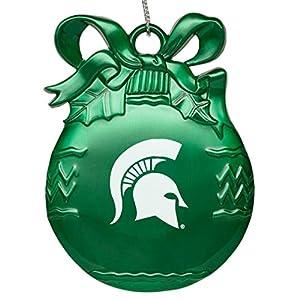 Amazon.com : Michigan State University - Pewter Christmas Tree ...