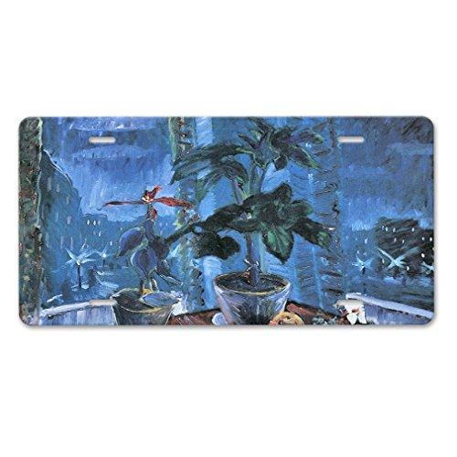 Elvira Jasper Christmas Quiet Life (Walter Gramatte) Car Aluminum License Plate (Christmas Jasper Plate)