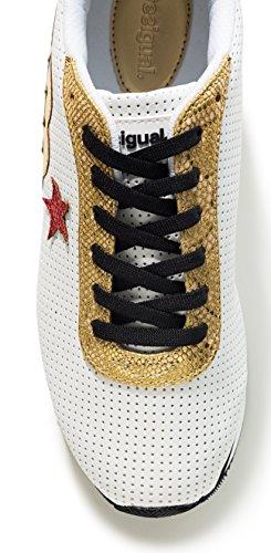 EU 41 Donna Bianco Sneaker Desigual awTqYY