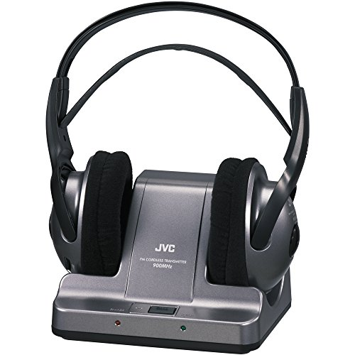 046838026744 - JVC 900MHZ Wireless Headphones - Black (Discontinued by Manufacturer) carousel main 0