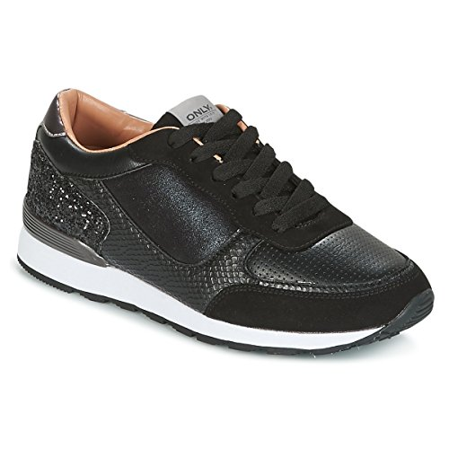l Mode Sneaker Chaussures Sillie Only Mix Ville blk nwPWIE4xz