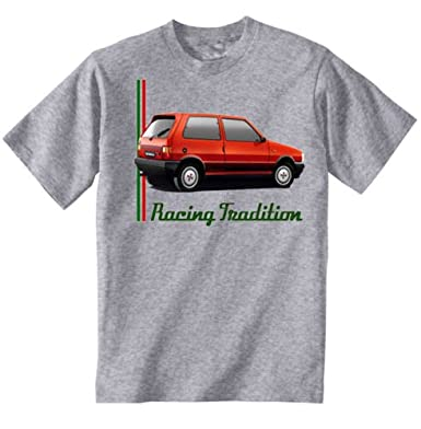 TEESANDENGINES FIAT UNO TURBO IE INSPIRED Camiseta Gris para hombre de algodon Size XXXLarge: Amazon.es: Ropa y accesorios
