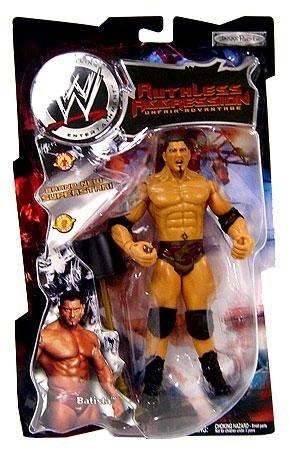 [WWE Jakks Pacific Wrestling Action Figure Ruthless Aggression Series 2 Batista] (Batista Wrestling Figure)