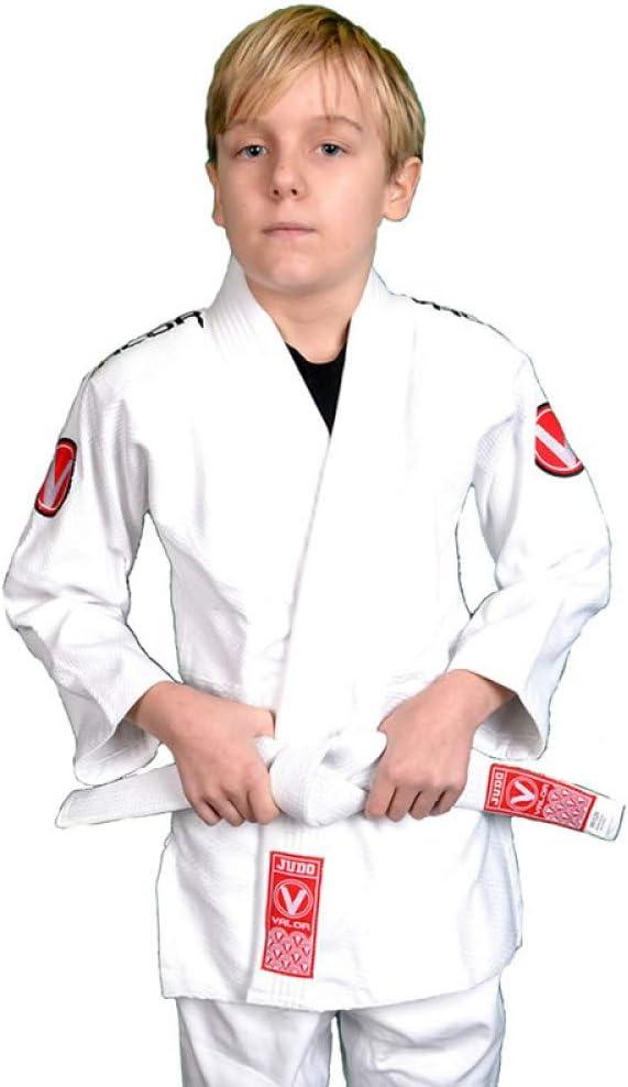 Valor Sento Premium Traje de Judo para ni/ños