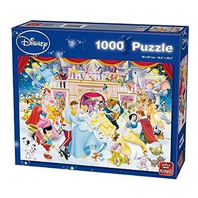 King Disney Holiday Vacanza Sul Ghiaccio Puzzle 1000 Pezzi