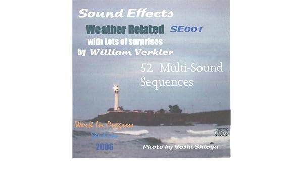 William Verkler - Sound Effects Se001 - Amazon com Music