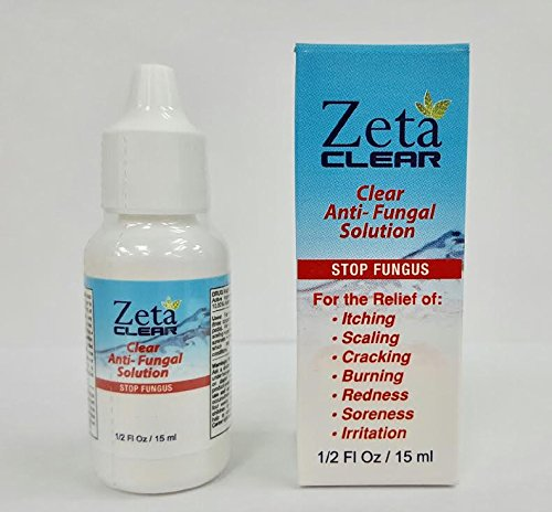 Zeta Clear, Fungal Treatment with New Improved FDA Approved and Clinically Proven Formula - 1 pack by Zeta Clear