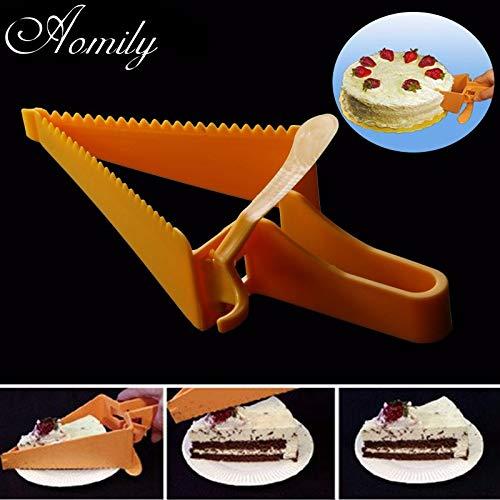 Casavidas Aomily Triangle DIY Cortador de tarta postre ...