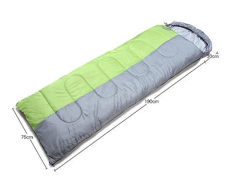 acampar al aire libre del almuerzo romper el saco de dormir adultos gruesa acampar cálido saco
