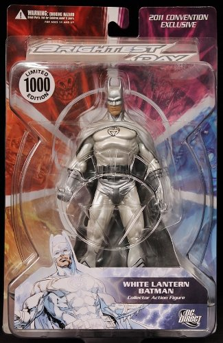 Batman Brightest Day White Lantern Figure C2E2 Exclusive