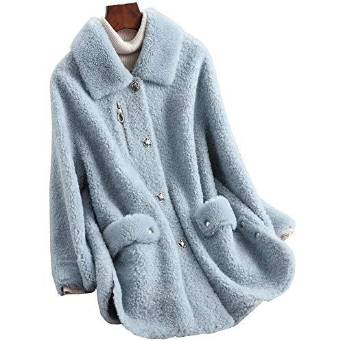 Zoreline Winter Women Over Coat Woolen Outerwear Fashion Ladies Overcoat Warm Jacket Korean Elegant Outer Clothing