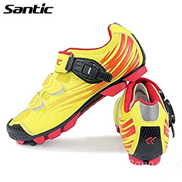 Mark8shop Santic Zapatos de Ciclismo MTB Bicicleta de montaña ...