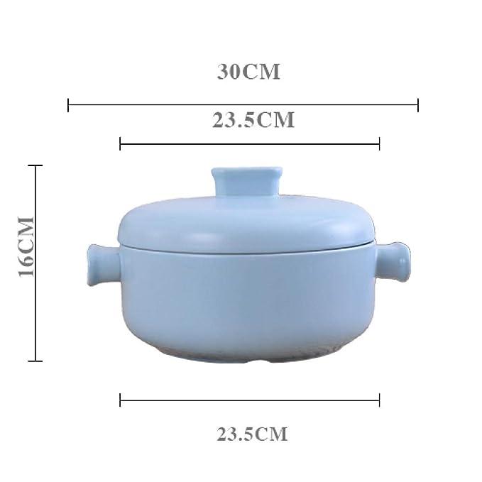 HGYUI Olla de Sopa de cerámica, Olla Japonesa de Alta Temperatura ...