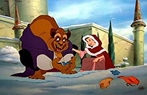 "Disney Beauty And The Beast Cel ""HEARTWARMING Extremely Rare EditionSold-Out"
