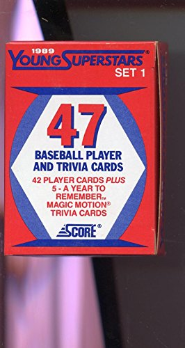 fan products of 1989 Score Baseball Young SuperStars Series 1 I Complete Set Box Gary Sheffield
