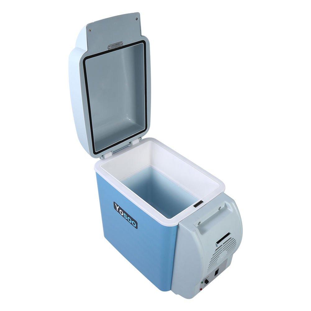 Mini Kühlschrank Kühlbox Kühltasche für Auto KFZ Kühler/Wärmer 7,5L ...