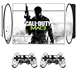 Cod Mw Skin Sticker PS3 PlayStation 3 Super Slim with 2 Controller Skins