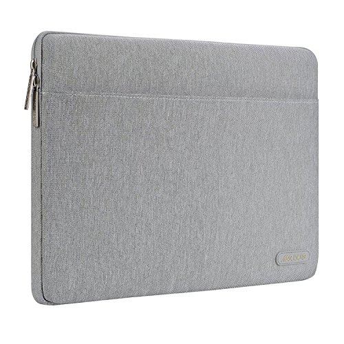 Mosiso Polyester Horizontal Laptop Sleeve Case Bag Cover for 13-13.3 Inch MacBook Pro, MacBook Air, Notebook Computer, (Horizontal Air Adapter)